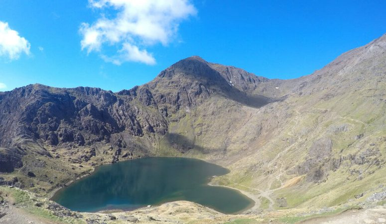 Snowdon Summit Route: The Pyg Track