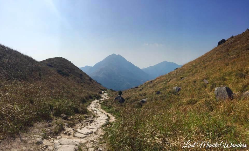 Trail leading to mountain