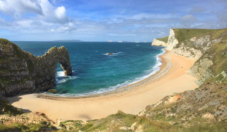 Lulworth Cove to Durdle Door loop walk