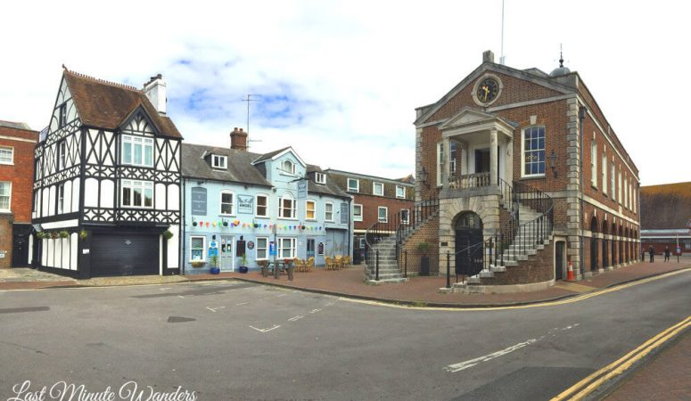 Poole's Old Town: Historical buildings in Dorset